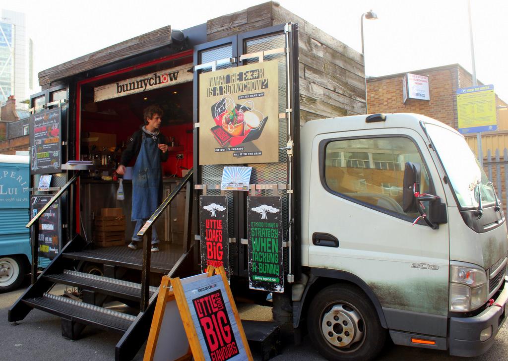 5 Best Food Trucks In London