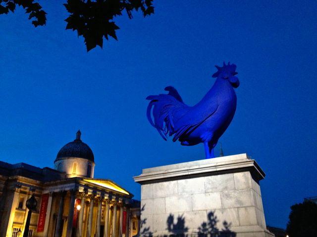 Hahn/Cock on the Fourth Plinth, Trafalgar Square