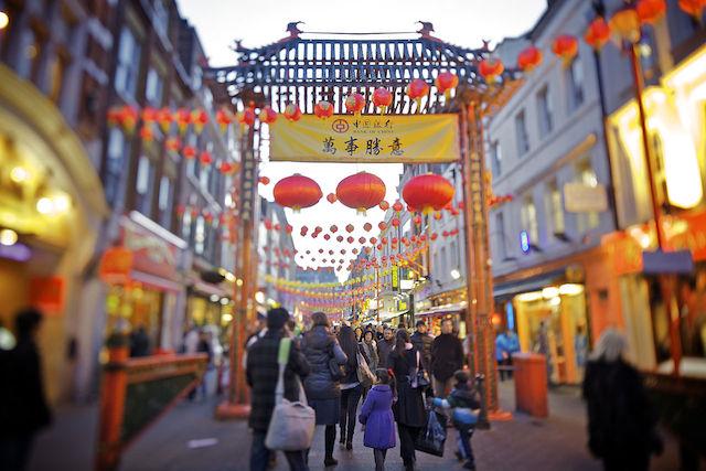 London S Chinatown Has Over 80 Restaurants Photo Aurelien