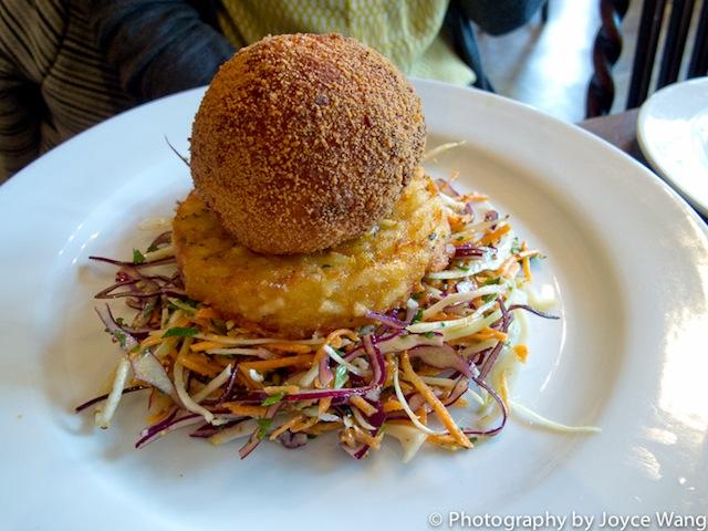 Chicken kyiv, a signature British dish at The Mall Tavern