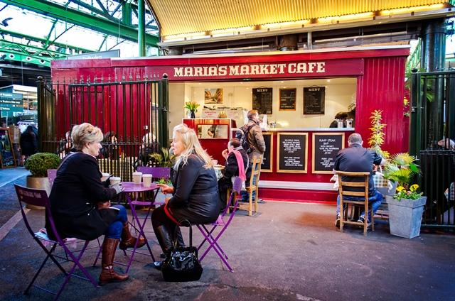 Maria's Cafe via Garry Knight