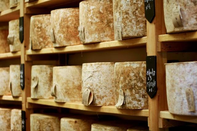 Neal's Yard Cheese via Paul Joseph