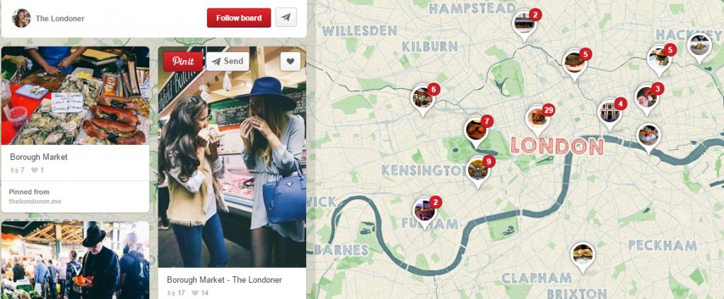 Pinterest - the Londoner