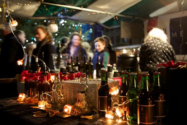 The Southbank Christmas market. (Photo credit: Belinda Lawley)