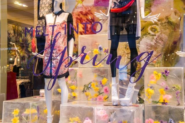 Spring shopping easter london