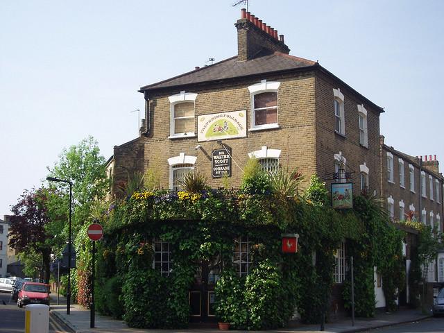 The Faltering Fullback - London