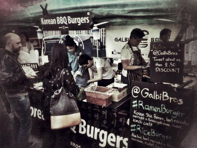 Urban Food Festival Korean Burgers