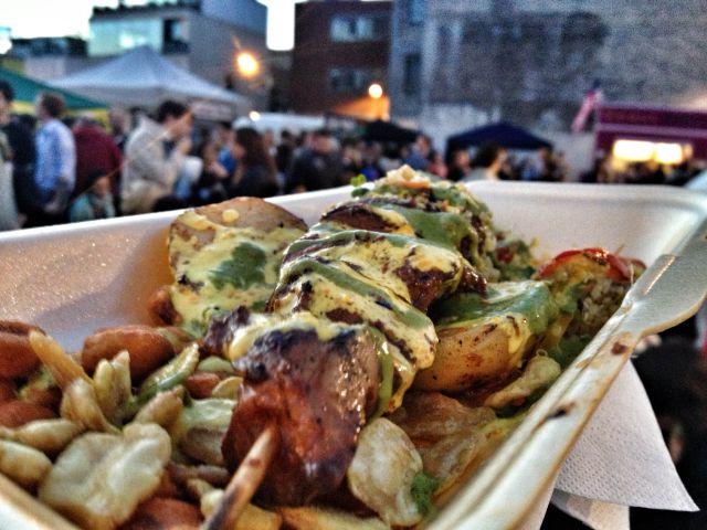 Urban Food Festival Peruvian Skewers