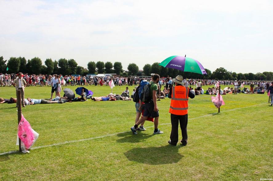 The Wimbledon queue