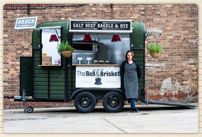 food truck london brisket