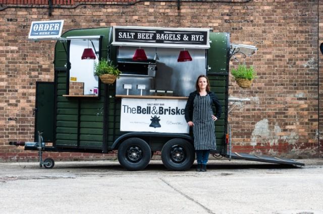 bell and briskett food truck london
