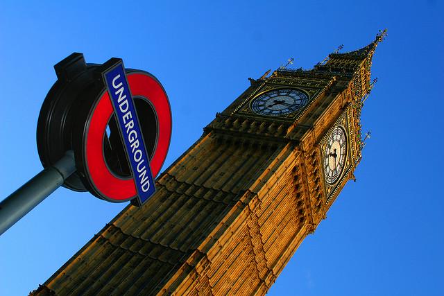 London's iconic Big Ben.