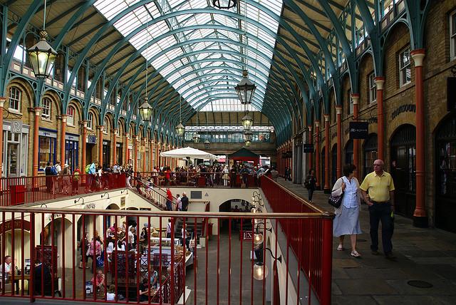 Covent Garden Market by David Baron.