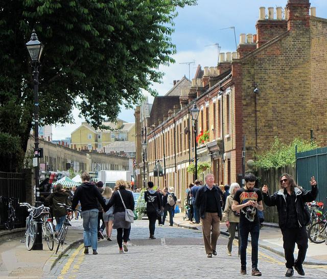 The East End via Jo Marshall