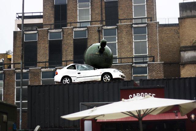 flattened-car-sculpture-shoreditch
