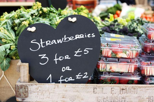 London Food Market by Bobbi O'Gilvie.