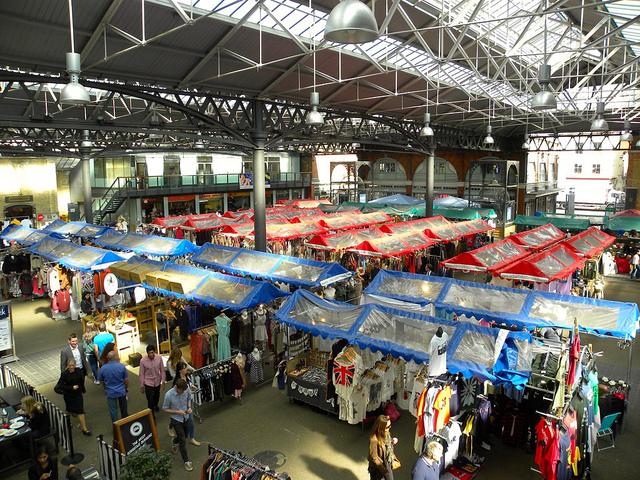 Old Spitalfields Market by Jason Paris.