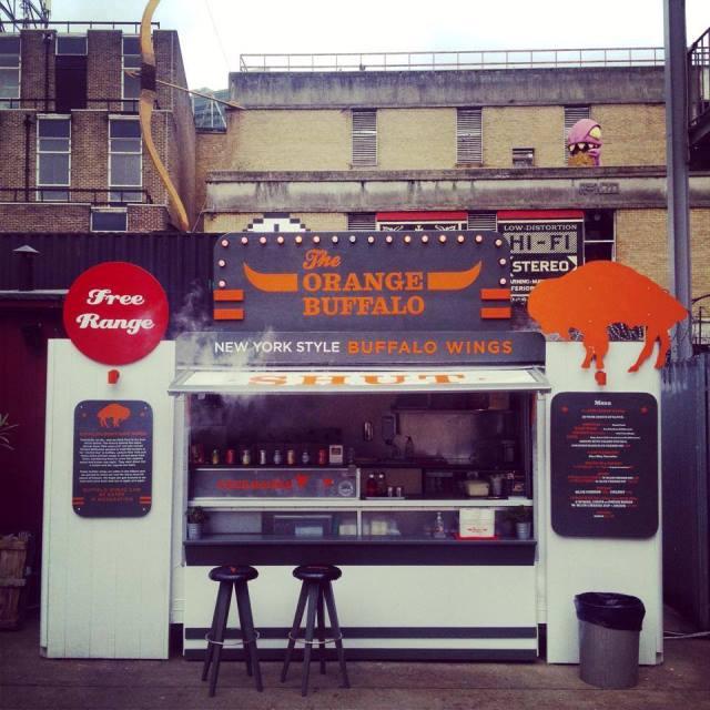 orange buffalo food truck London