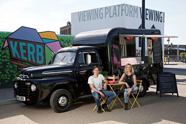 rainbo food truck london