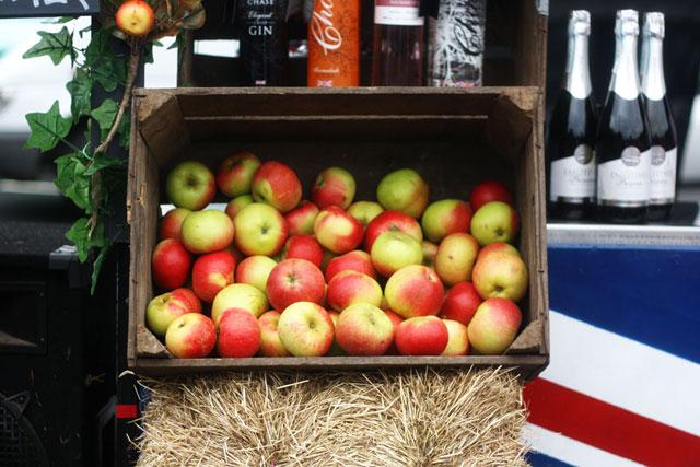 London Farmers' Market by Bobbi O'Gilvie.