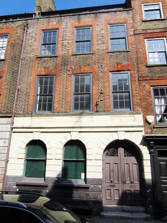 Exterior of 19 Princelet Street.
