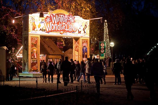 Winter Wonderland Hyde Park by Garry Knight.