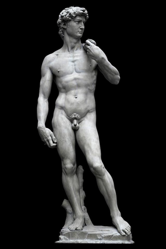 Michelangelo's David. (Photo credit: V&A)