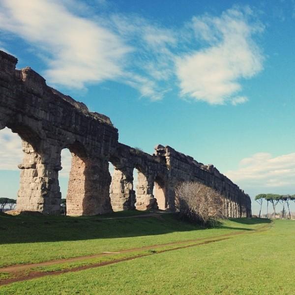 Parco degli acquedotti by Browsing Italy.