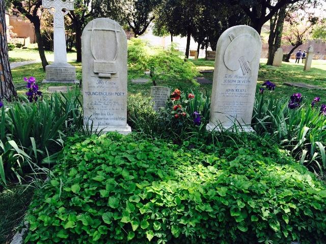 Keats and Shelley graves
