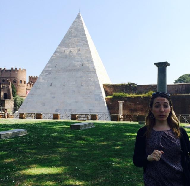 Pyramid in Testaccio - Rome