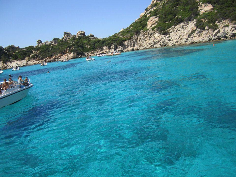 The beyond pristine waters of Sardegna
