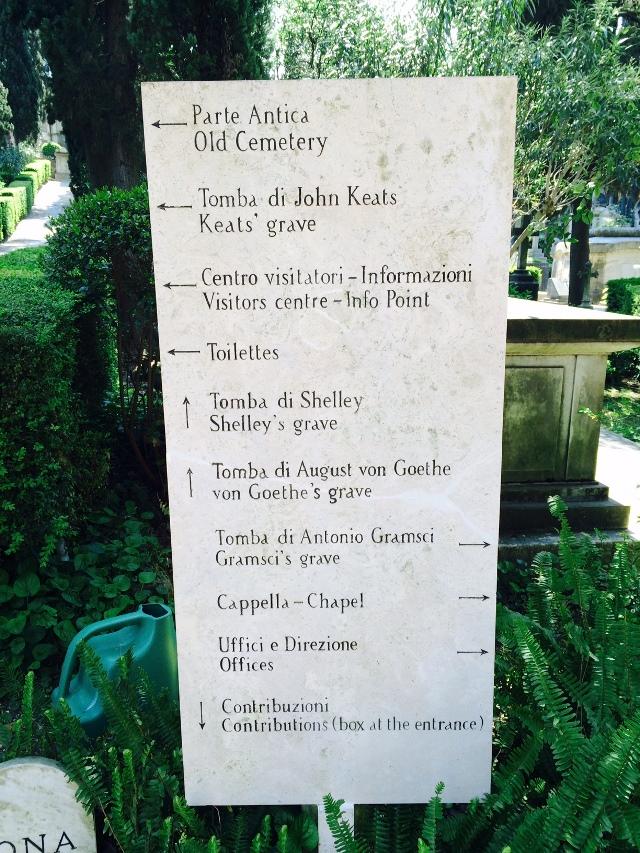 Testaccio cemetery Rome