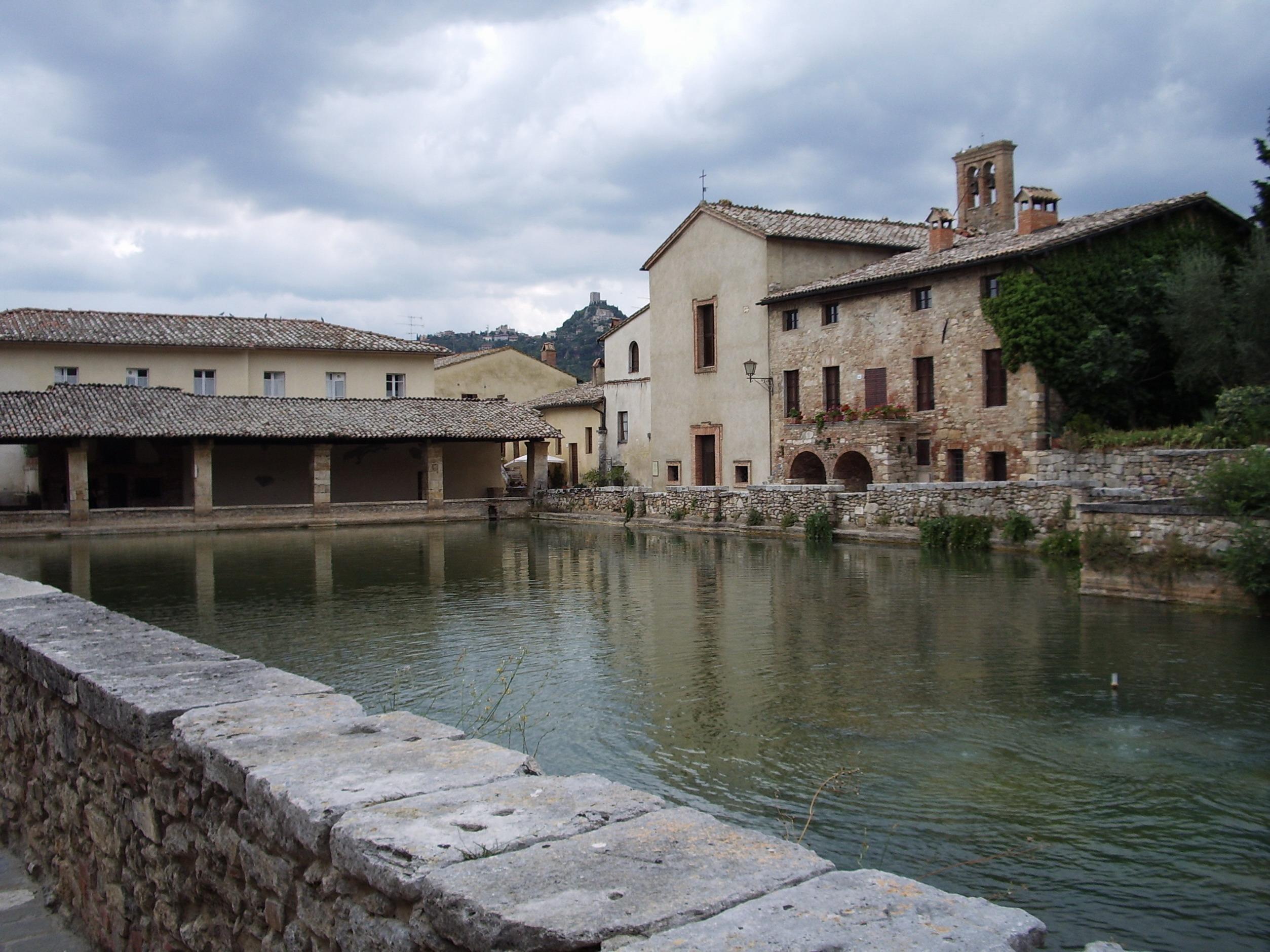 Bagno Vignoni in Tuscany