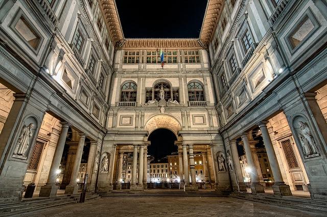 Uffizi Gallery in Florence (Photo credit:)