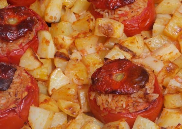Pomodori Ripieni di Riso con Patate (RECIPE)
