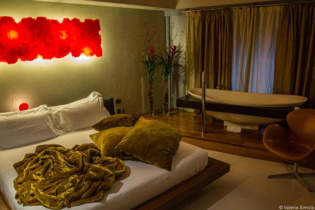 Suite Sistina: great for a romantic weekend getaway