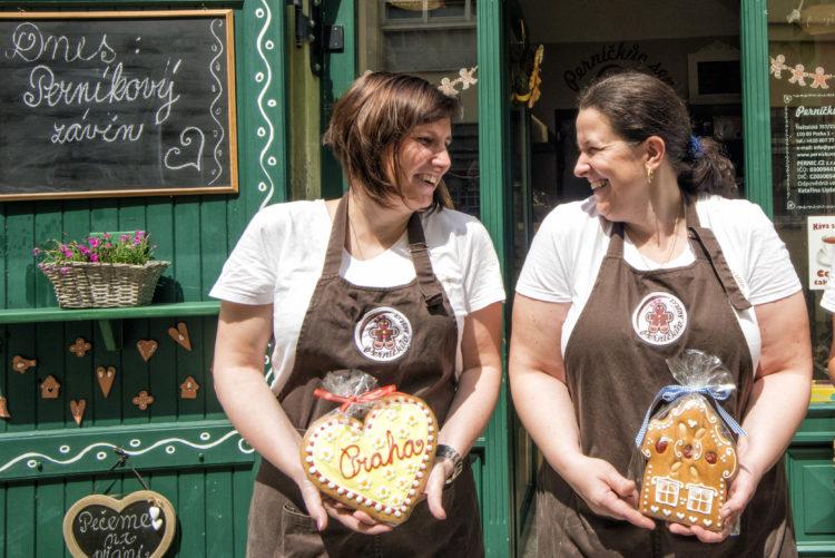 Perníčkův sen – Obchod s perníkem (Gingerbread store) in Prague