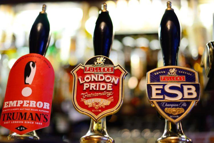 Pride of Spitalfields – English Boozer/Pub in London