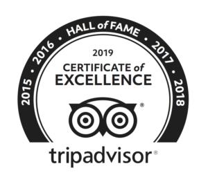 Eating Europe is a Tripadvisor Hall of Fame Member