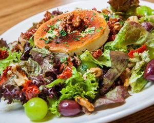 salad dish in Prague