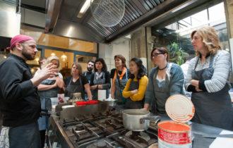 Pizza & Gelato Making Class in Oltrarno