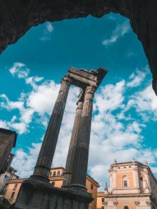 Portico d'Ottavia in Rome