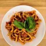 pici pasta tuscan dish