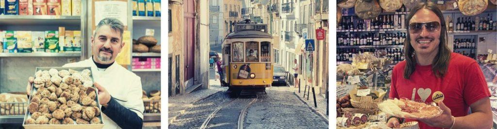rome and lisbon tram